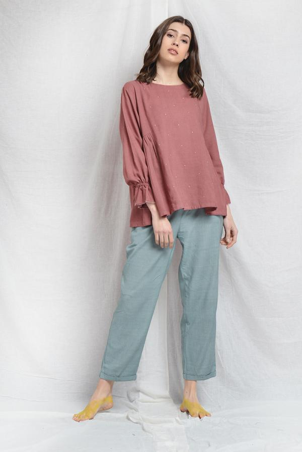 HOLLY PLEATED TUNIC